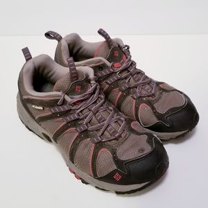 Columbia Mens Size 8.5 Brown Hiking Shoes